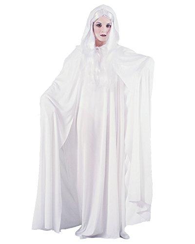 Fun World Women's Gossamer Ghost Theatrical Costume, White, Standard
