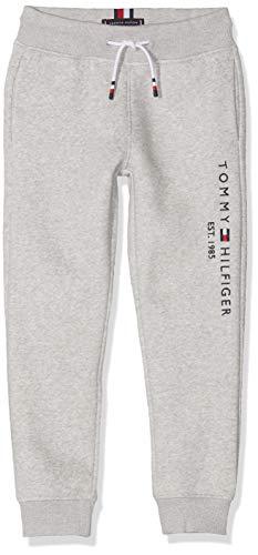 Tommy Hilfiger Jungen Essential Sweatpants Set 1 Hose, Grau (Grey Pz2), 176 (Herstellergröße:16)