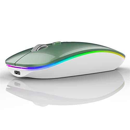 mouse verde M12 Mouse Senza Fili Bluetooth