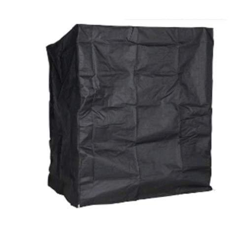 Couverture De Meubles De Jardin, Couverture Respirante pour La Nature De Meubles De Jardin du Groupe De Sièges De Tissu d'Oxford Cover Black 135 X 105 X 175/140Cm