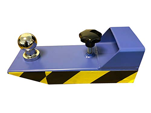 Rangierhilfe Gabelstapler Stapler Blau Anhänger Kugelkopf Anhängerkupplung