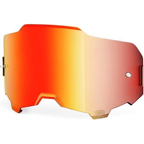 100% 51040-003-02 Masque de ski rouge