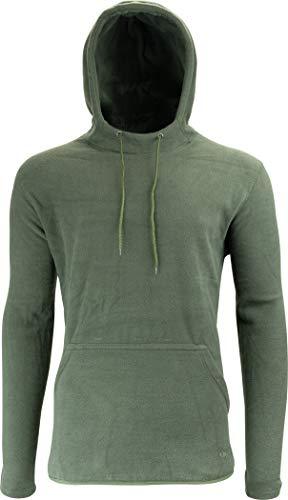 JACK PYKE - Sweatshirt à capuche Fieldman - en polaire - Vert XL vert
