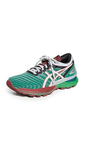 ASICS Women's Fn1-S Gel-Nimbus 22 Shoes, 8M, Baltic Jewel/Pure Silver