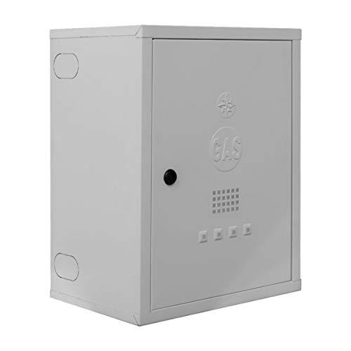 Cassetta per contatore gas in acciaio preverniciato bianco – Art. 065B – TECNOMETAL