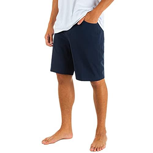 Hurley Herren Shorts M Phantom Flex 2.0 Short 20', Obsidian, 33, 895082