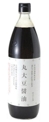 大徳醤油 丸大豆醤油 900ml