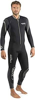 Cressi Bahia Flex 3mm Man, Black/Silver, XXL