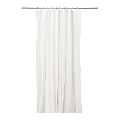 Cortina de ducha - IKEA EGGEGRUND, blanco - 180 x 180 cm