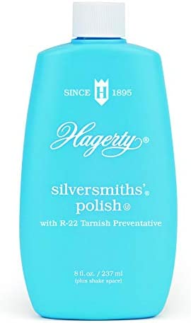 W J Hagerty Hagerty 10080 Silversmiths Silver Polish 8 Ounces 8 Ounce Blue 8 Fl Oz product image