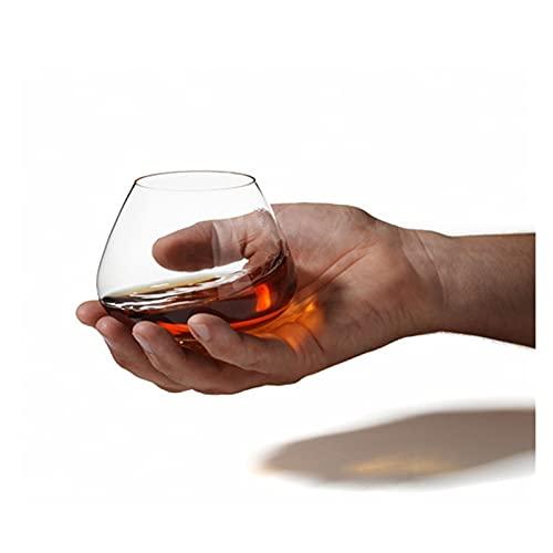 Vibiu Copa de Vaso de Roca nórdica Copa de Cristal sin Plomo Copa de Vidrio Extranjero Copa de Vidrio Cognac (Size : Large)