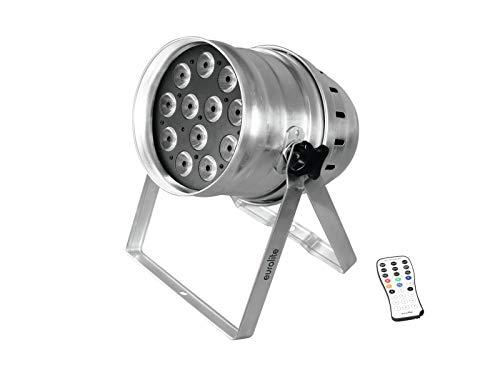 Eurolite LED-lamp, Par-64 Qcl, 12 x 8 W, Floor SIL, meerkleurig, eenheidsmaat