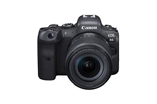 Canon EOS R6 Full-Frame Mirrorless Camera + RF24-105mm F4-7.1 is STM Lens Kit