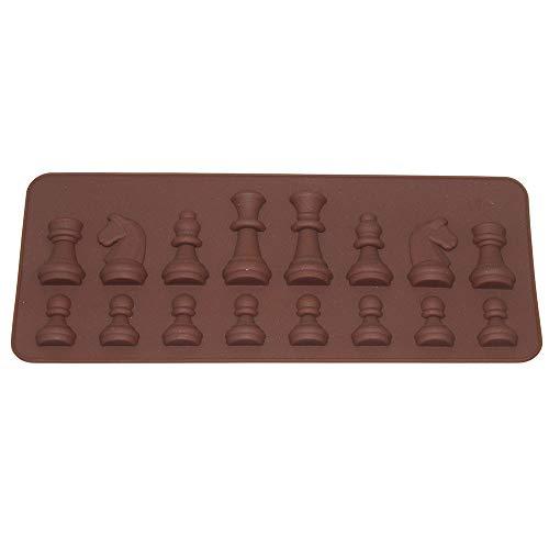 Tiranranrt Kuchenform Internationaler Schachkuchen Schokolade Zucker Handwerk Formenformen Werkzeuge Neues Silikon 3D