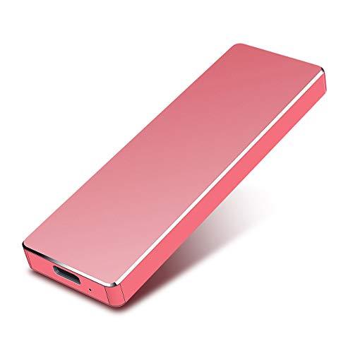 1TB 2TB External Hard Drive, Portable Hard Drive External USB 3.1 Hard Drive for Mac,PC,Laptop,Desktop (1TB, Red)