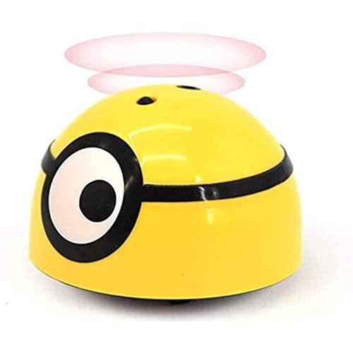 Gjbpls Sensor de Mano Inteligente del Mini Juguete de inducción para niños está Fuera de Control, con Luces Intermitentes y Sonidos realistas, Perfecto para Regalos de cumpleaños, (Amarillo)