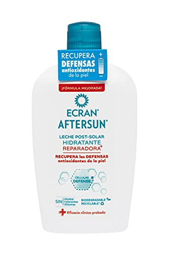 Ecran Aftersun Leche Post-solar Hidratante Y Reparadora - 400ml, Blanco, Almond