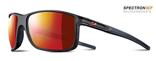 Julbo Arise Sonnenbrille für Herren, transparent, blau, groß