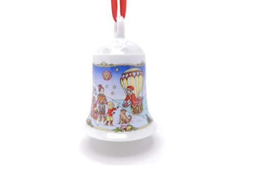 Hutschenreuther Porzellan Weihnachtsglocke 2000 in neutraler Geschenkverpackung NEU 1.Wahl