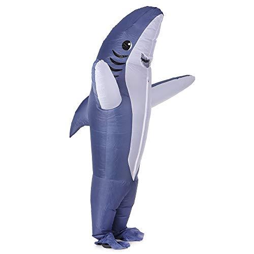 グレー 用 ハロウィン衣装サメ衣装コスプレ衣装インフレータブル大人 クリスマスステージパーティ(160〜190センチメートル)