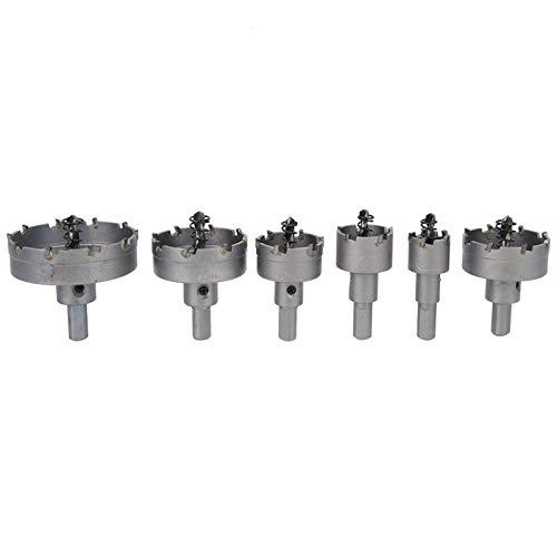 Broca de sierra de agujero de 6 piezas Herramientas eléctricas Accesorio de...