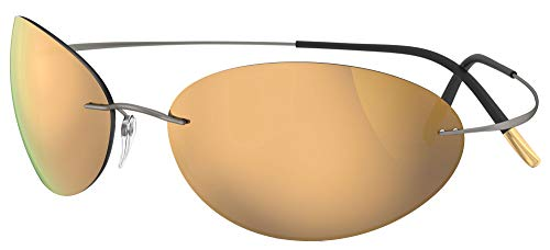 Silhouette TMA MUST 8714 RUTHENIUM/GOLD - Gafas de sol unisex (talla única)