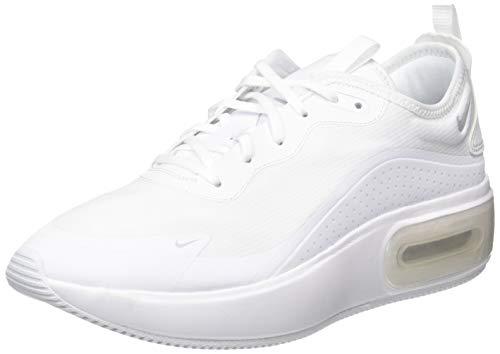 Nike W Air Max Dia, Scarpe da Ginnastica Donna, Bianco (White/Mtlc Platinum/White 105), 42 EU