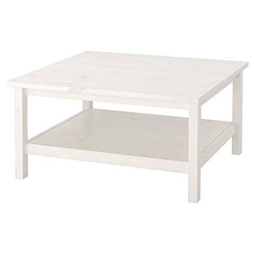 Tok Mark Traders HEMNES stolik kawowy, biała plama, 90 x 90 cm trwały i łatwy w pielęgnacji. Stoliki kawowe i pomocnicze. Stoliki i biurka. meble. Przyjazne dla środowiska.