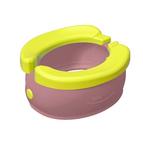 Topwon - Vasino pieghevole a banana da viaggio, per bambini, riutilizzabile, per bambini