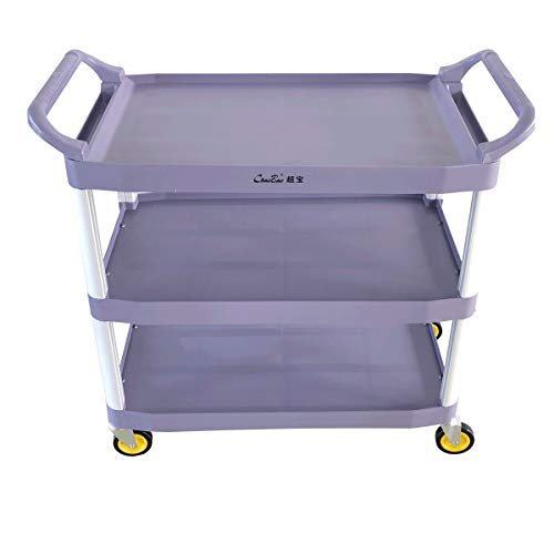 Z GRILLS 3-Shelf Rolling Service Cart