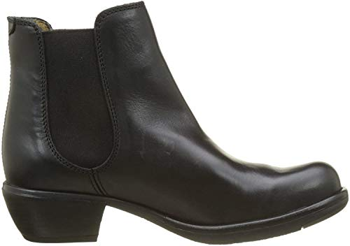 FLY London Damen MAKE Chelsea Boots Stiefel, Schwarz (Black 018), 39 EU