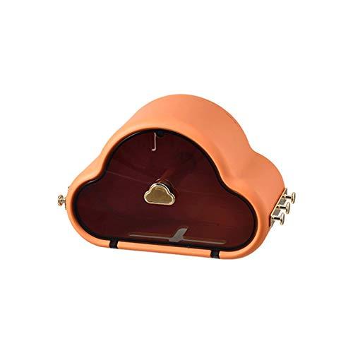 WSXEDC Dispensador de Toalla de Papel de Pared Rollos de Toalla de Toalla Caja con cajón pequeño, dispensador de Tejido Facial, Adecuado para baño, Cocina, Oficina, Sala de Estar Portarrollos