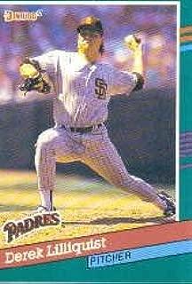 1991 Donruss Baseball Card #570 Derek Lilliquist