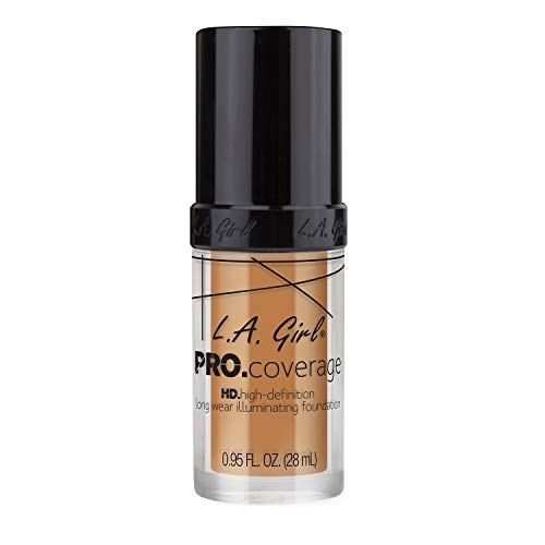 L.A. Girl Pro Coverage Illuminating Foundation - Nude Beige