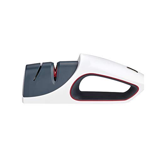 Zyliss E920199 Aiguiseur céramique pour couteaux de cuisine, blanc/gris