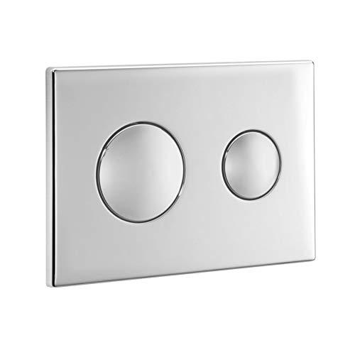 Ideal Standard Conceala 2 Dual Flush Plate Satin Silver S4399BX