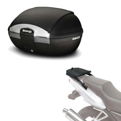 Sh45he105 - Kit fijacion y Maleta baul Trasero sh45 Compatible con Kawasaki z750r 2007-2012 Kawasaki...