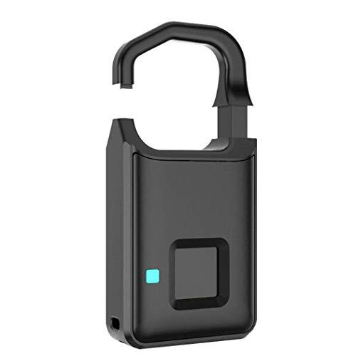 MDZZ Intelligentes Fingerabdruckschloss Automatisches elektronisches Nokelock-Gepäckschloss Anytek Fingerprint Lock 10 Fingerabdrücke