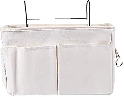 Gran capacidad; almacenamiento por separado Bolsillos dobles en la parte delantera; Bolsillos laterales de red; Clasificados y almacenados para facilitar ganchos dobles access.Side se puede utilizar para colgar los auriculares, llaves, notas, etc. Es...