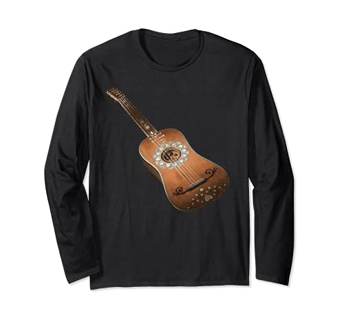 Guitarra acústica de seis cuerdas Classic Rock & Roll diseño Manga Larga