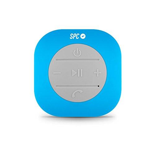 SPC Splash Speaker Altavoz Bluetooth Resistente a Las Salpicaduras IPX4 con 3W de Potencia