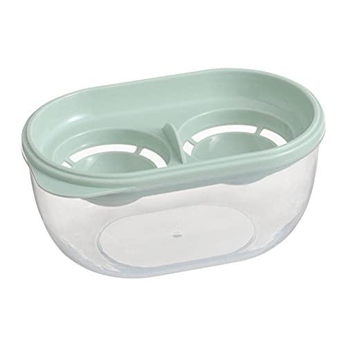 Funmix Ceramica Separatore Delluovo,pelapatate per Cucina, separatore di tuorlo duovo con Contenitore per proteine Grande capacità, divisore per Uova utensile da Cucina
