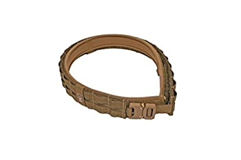 Grey Ghost Gear UGF Battle Belt with Padded Inner Coyote Brown Large