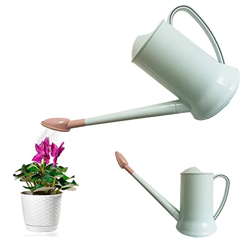 Regadera de 2 litros con caño Largo, de plástico, Desmontable, para Plantas,...