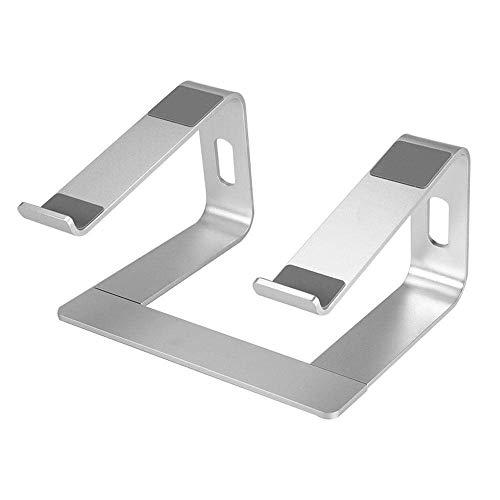 LIPENLI Sostenedor del Soporte de aleación de Aluminio portátil Notebook Ayuda del sostenedor del Soporte Vertical con refrigeración for el Cuaderno del Ordenador portátil Soporte