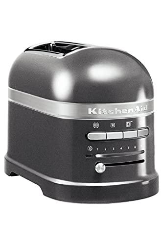 Kitchenaid 5KMT2204EMS Artisan -Toaster für 2 Scheiben, Medaillon silber