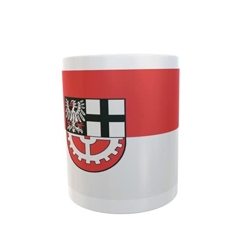 U24 Tasse Kaffeebecher Mug Cup Flagge Hürth