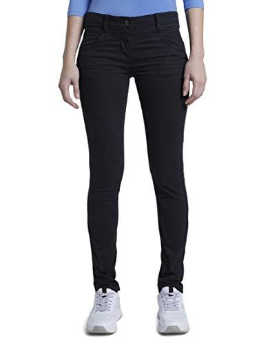 TOM TAILOR Damen Hosen & Chino Alexa Slim Jeans Deep Black,40/32,14482,2999