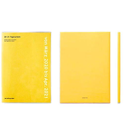 ハイタイド手帳2020年3月始まりA5マンスリーコトンピンク20SF4