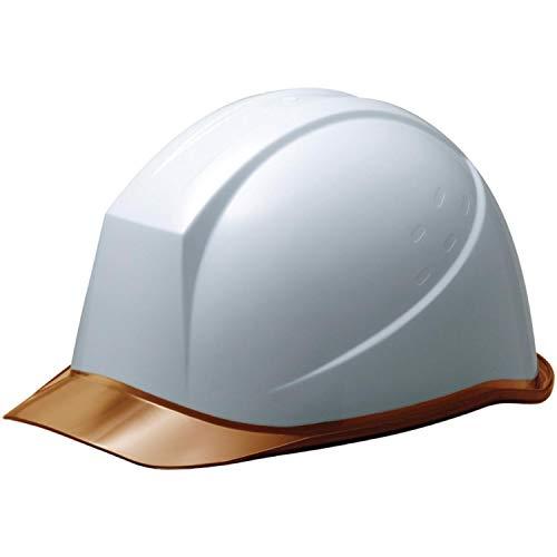 ミドリ安全 ヘルメット 作業用 PC製 クリアバイザー ウインドフロー SC11PCL RA3 UP ホワイト/ブラウン
